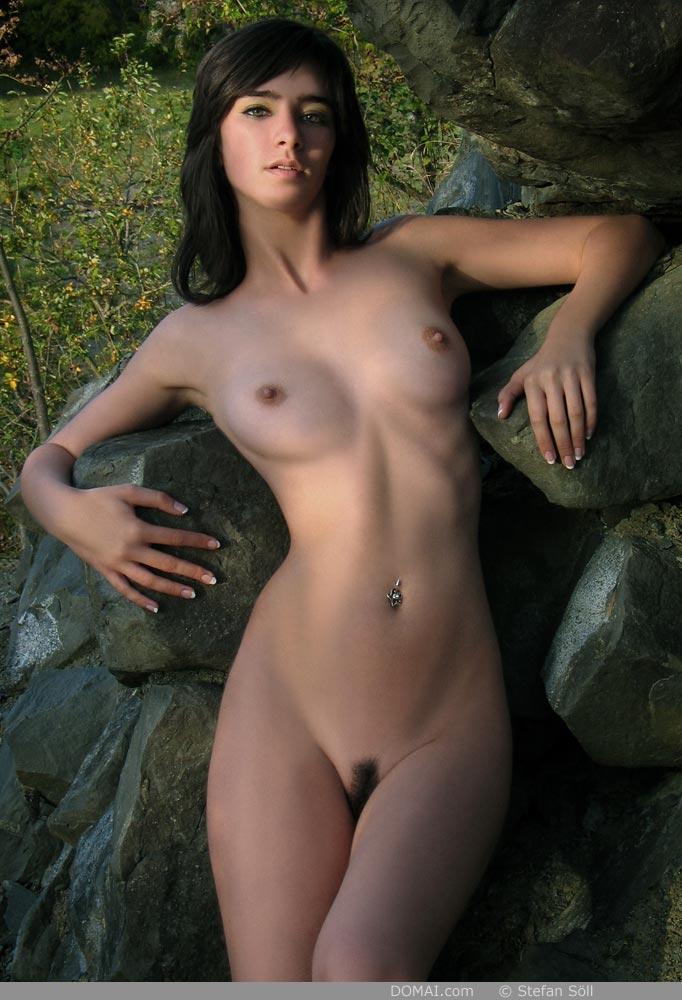 Domai pregnant nude beautiful