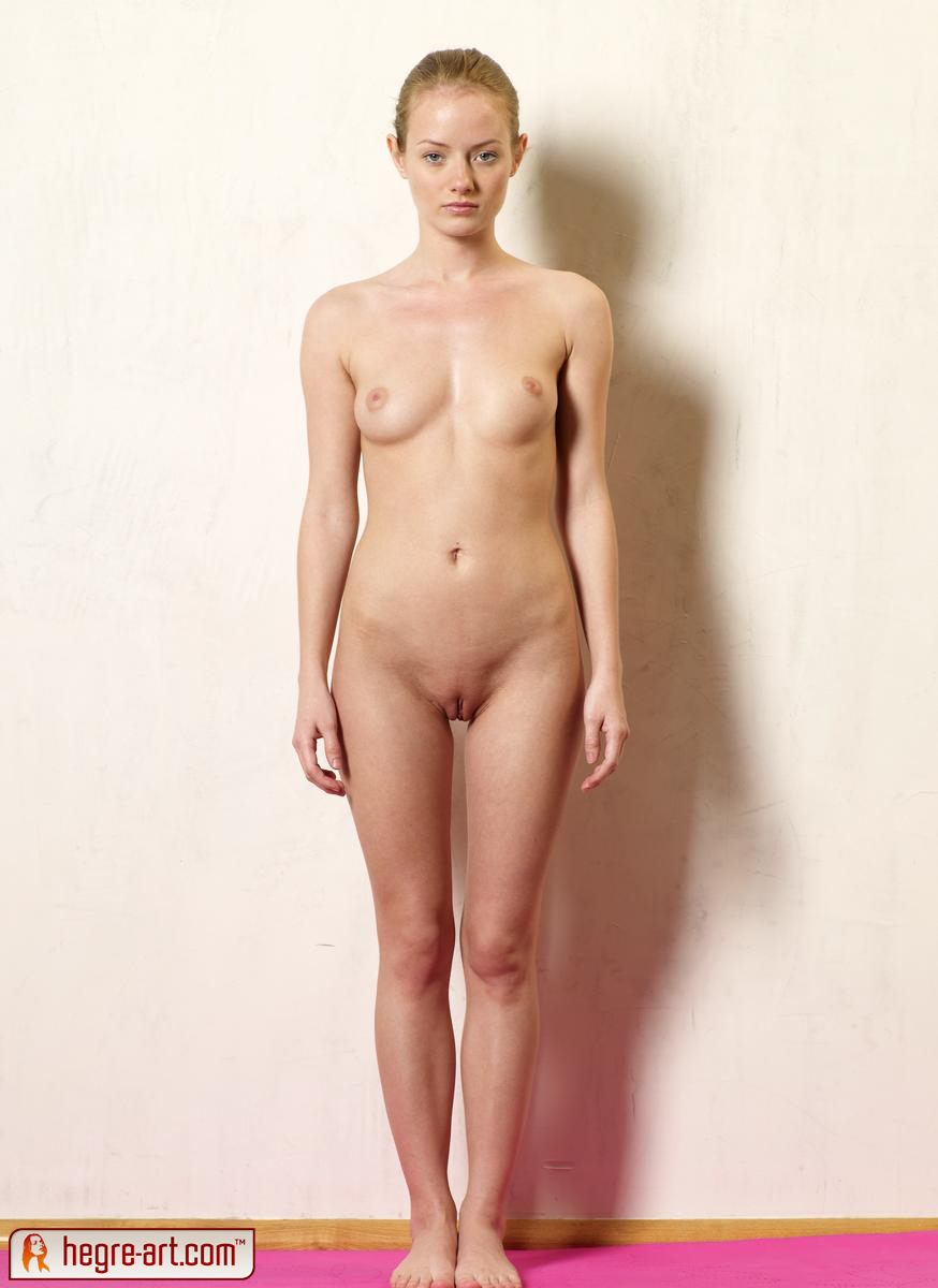 hot young nude vagina standing